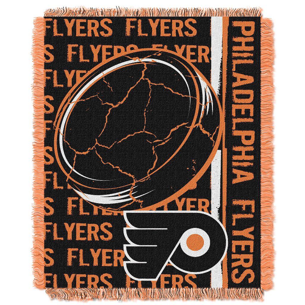 Philadelphia Flyers Jacquard Throw Blanket by Northwest