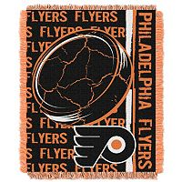 Philadelphia Flyers Jacquard Throw Blanket by Northwest