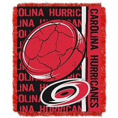 Carolina Hurricanes Jacquard Throw Blanket by Northwest