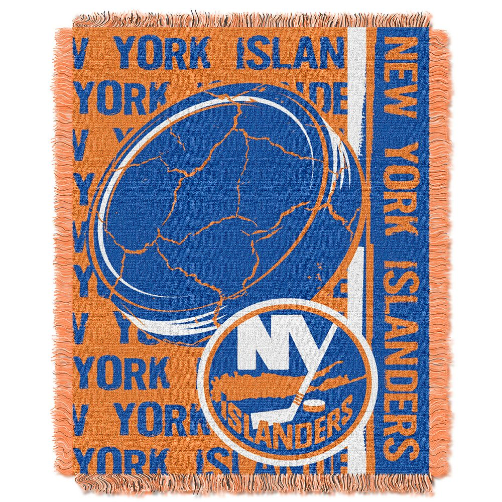 New York Islanders Jacquard Throw Blanket by Northwest