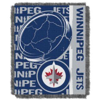 Winnipeg Jets Jacquard Throw Blanket by Northwest