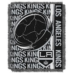 Los Angeles Kings Jacquard Throw Blanket by Northwest