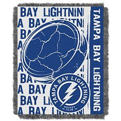 Tampa Bay Lightning Jacquard Throw Blanket by Northwest
