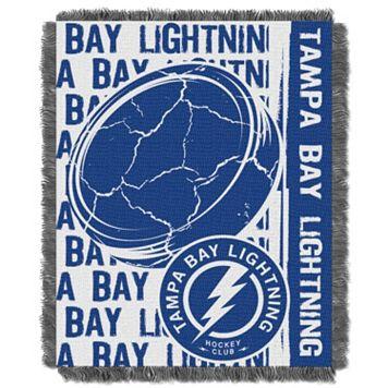 Tampa Bay Lightning Jacquard Throw Blanket by Northwest