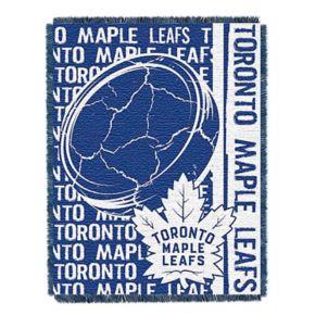 Toronto Maple Leafs Jacquard Throw Blanket by Northwest