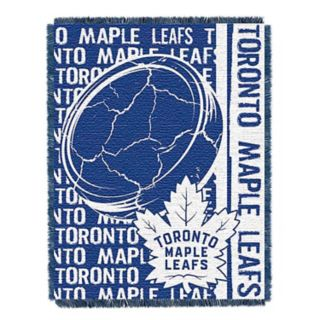 Toronto Maple Leafs Jacquard Throw Blanket by Northwest