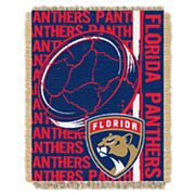 Florida Panthers Jacquard Throw Blanket by Northwest