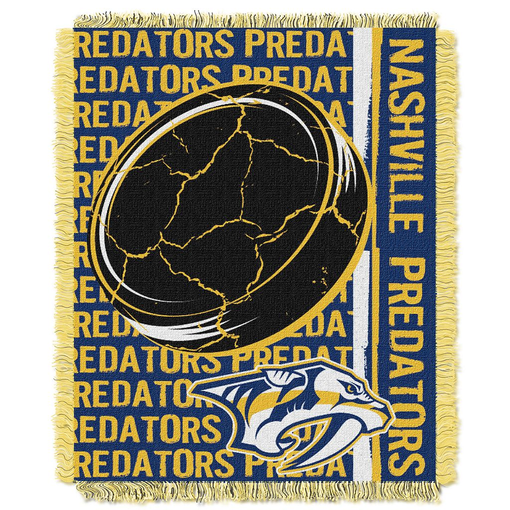 Nashville Predators Jacquard Throw Blanket by Northwest