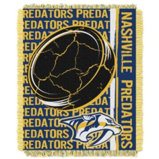 Nashville Predators Jacquard Throw Blanket by Northwest