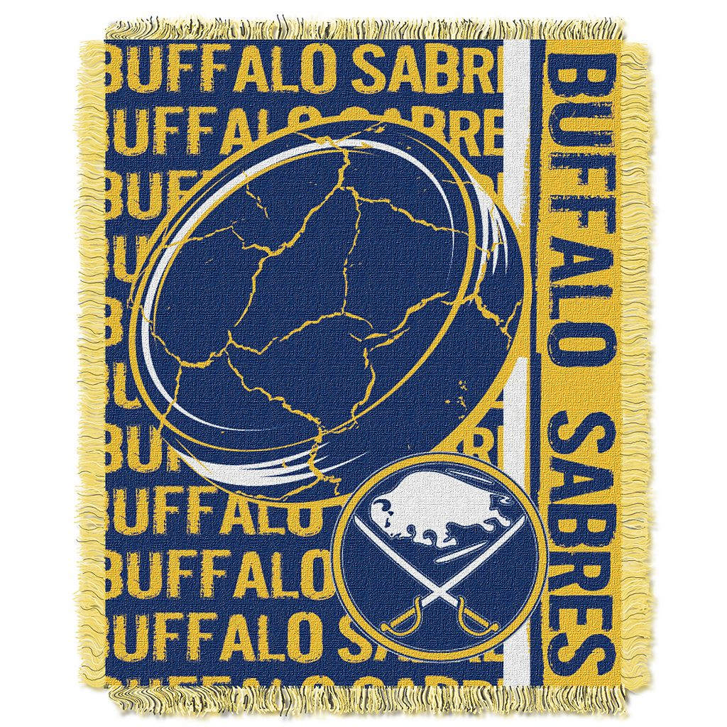 Buffalo Sabres Jacquard Throw Blanket by Northwest