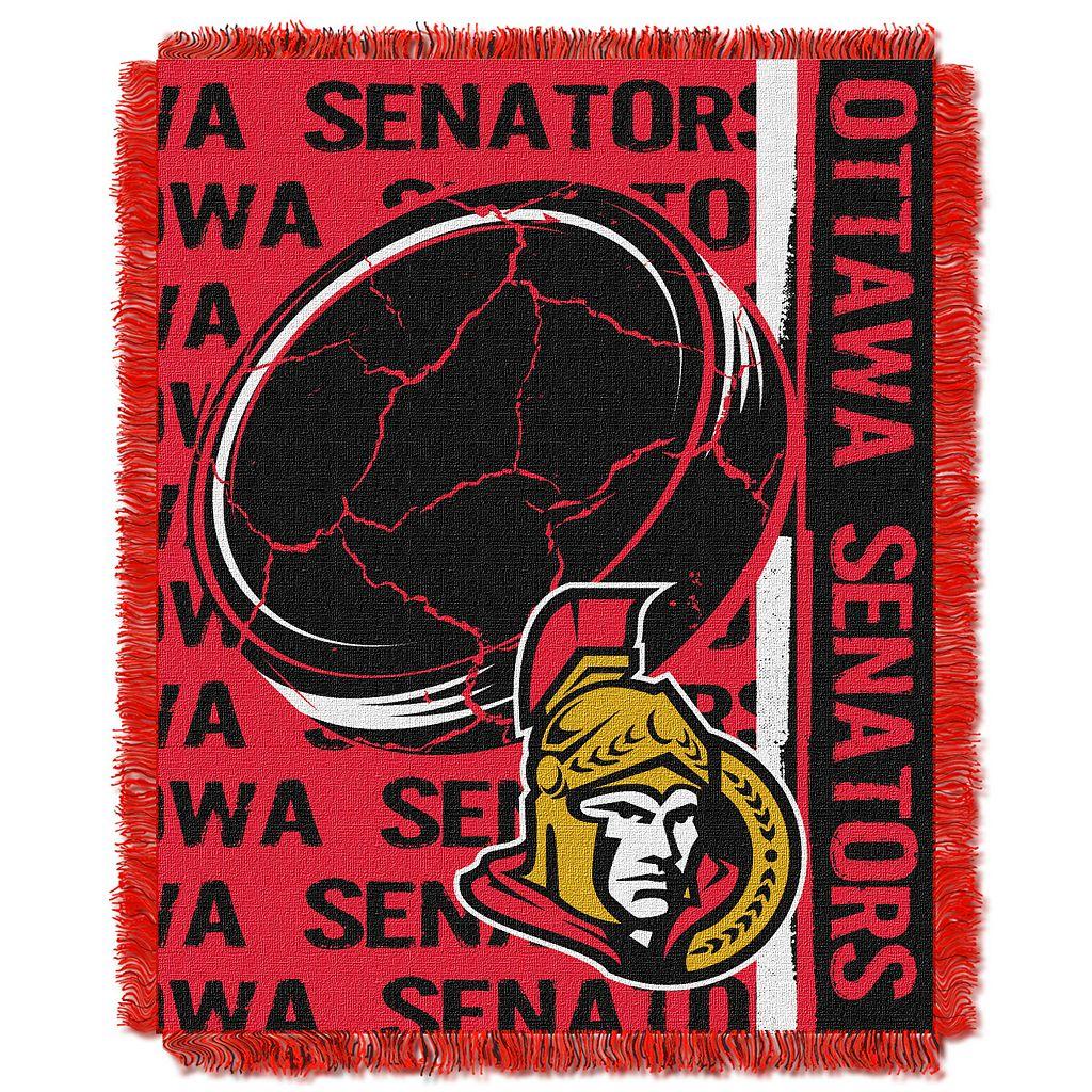 Ottawa Senators Jacquard Throw Blanket by Northwest