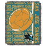 San Jose Sharks Jacquard Throw Blanket by Northwest