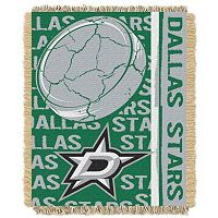 Dallas Stars Jacquard Throw Blanket by Northwest