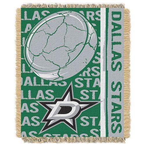Dallas Stars Jacquard Throw Blanket by Northwest