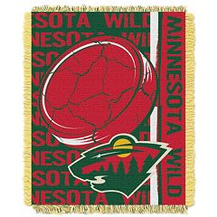 Minnesota Wild Jacquard Throw Blanket by Northwest