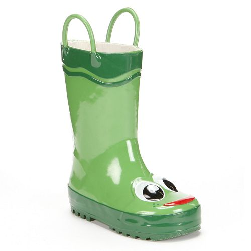 Western Chief Frog Rain Boots - Toddler Girls