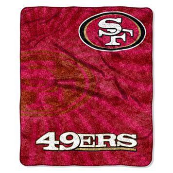 San Francisco 49ers Sherpa Blanket