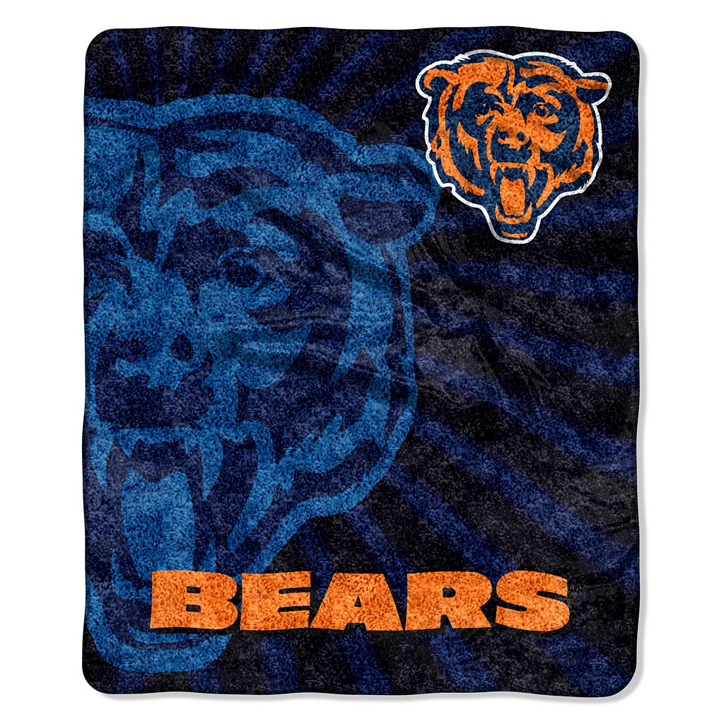 Chicago Bears Sherpa Blanket