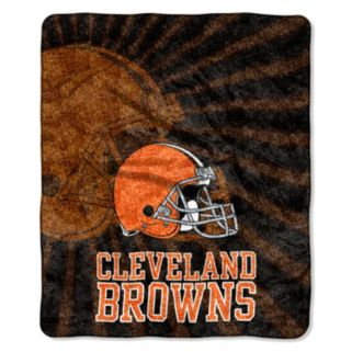 Cleveland Browns Sherpa Blanket