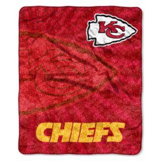 Kansas City Chiefs Sherpa Blanket