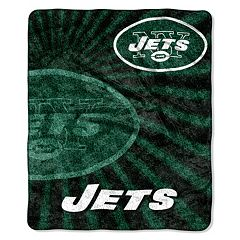 New York Jets Sherpa Blanket