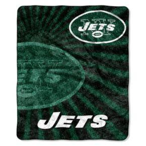 New York Jets Sherpa Blanket