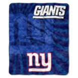 New York Giants Sherpa Blanket