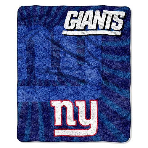 New York Giants Sherpa Blanket