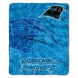 Carolina Panthers Sherpa Blanket