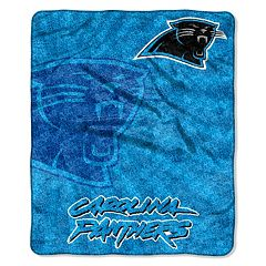 Carolina Panthers Sherpa Blanket