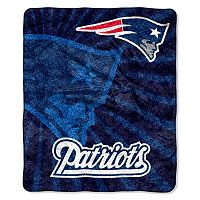 New England Patriots Sherpa Blanket