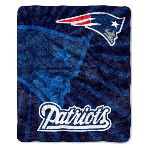 New EnglandPatriots Sherpa Blanket