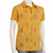 Hang Ten Tropical Beach Girl Camp Shirt - Men