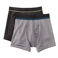 Boys 8-20 Tek Gear® 2-Pack DryTEK Performance Boxer Briefs
