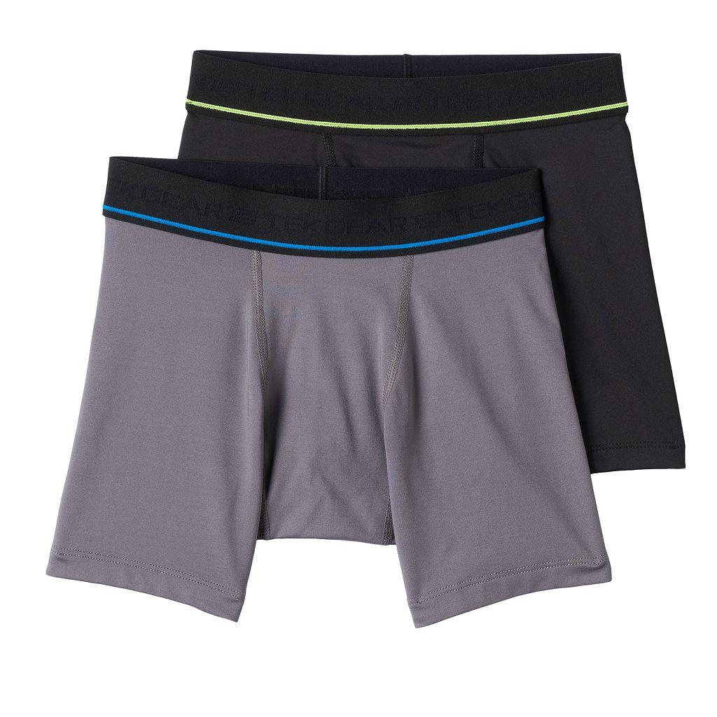 Boys 8-20 Tek Gear® 2-Pack DryTEK Performance Boxer Briefs