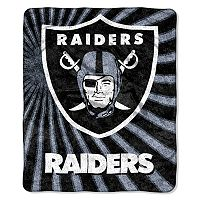 Oakland Raiders Sherpa Blanket