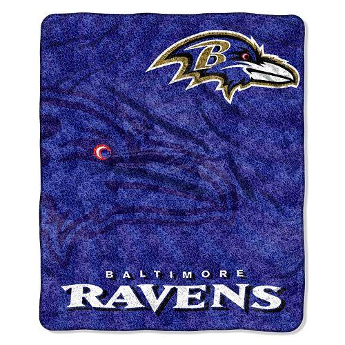 Baltimore Ravens Sherpa Blanket