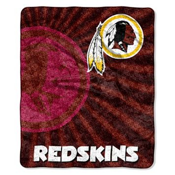 Washington Redskins Sherpa Blanket