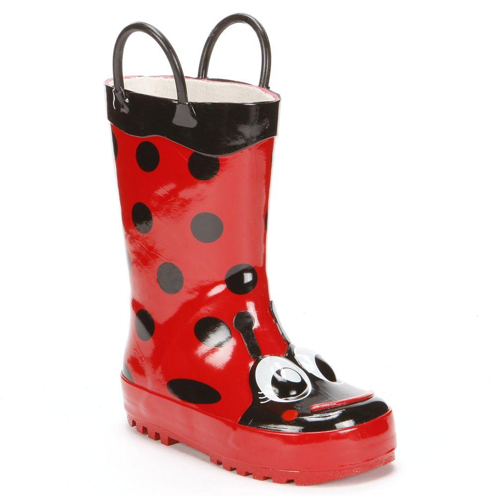Western Chief Ladybug Rain Boots - Toddler Girls