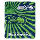 Seattle Seahawks Sherpa Blanket