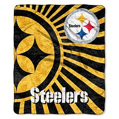Pittsburgh Steelers Sherpa Blanket