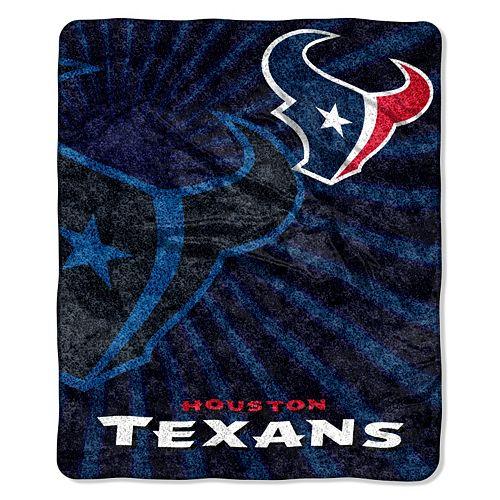 Houston Texans Sherpa Blanket