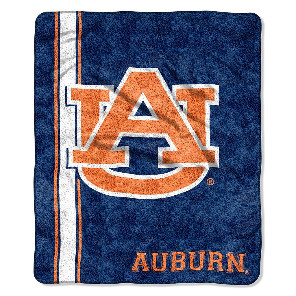 Auburn Tigers Sherpa Throw Blanket