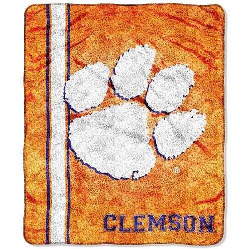 Clemson Tigers Sherpa Blanket