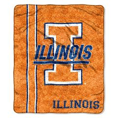 Illinois Fighting Illini Sherpa Blanket