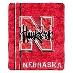 Nebraska Cornhuskers Sherpa Blanket
