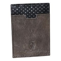Dopp Alpha RFID-Blocking Front-Pocket Money Clip Wallet