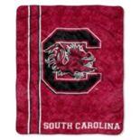 South Carolina Gamecocks Sherpa Throw Blanket