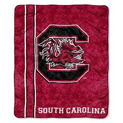 South Carolina Gamecocks Sherpa Throw Blanket