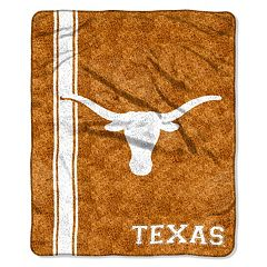 Texas Longhorns Sherpa Throw Blanket
